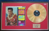 Elvis Presley - 24 Carat Gold Disc and Cover - Blue Hawaii